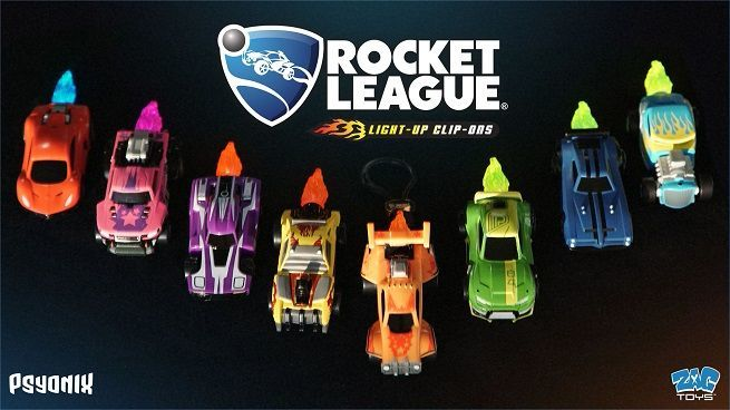 some rocket league clip on toys come with real world rewards