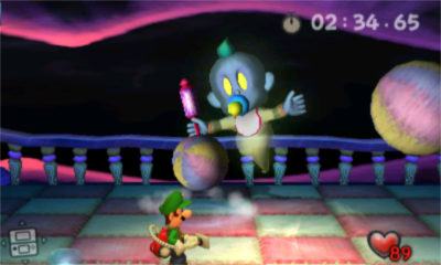 luigis mansion 3ds