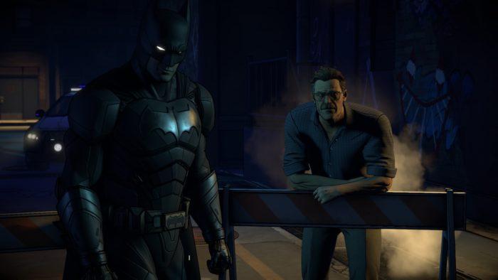 batman, enemy within