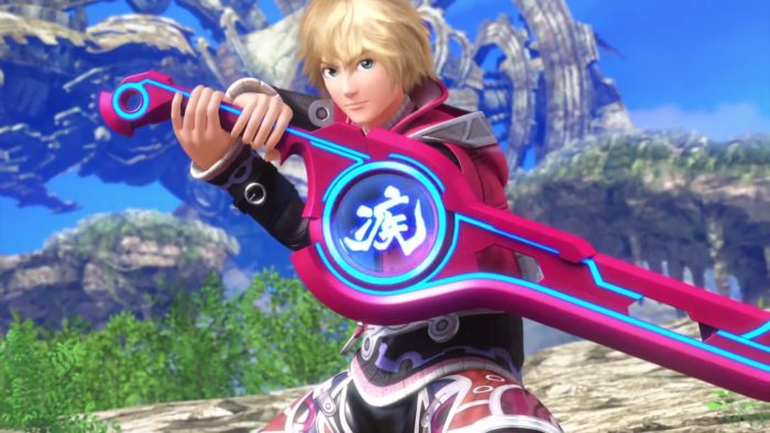 Shulk, Super Smash Bros.