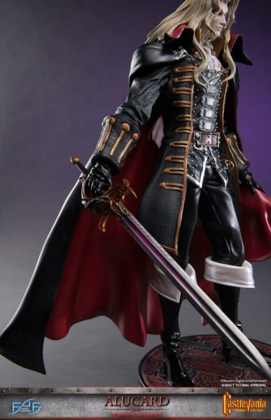 Castlevania Syphony of the Night Alucard First 4 Figures