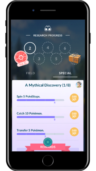 Pokemon GO Special Research