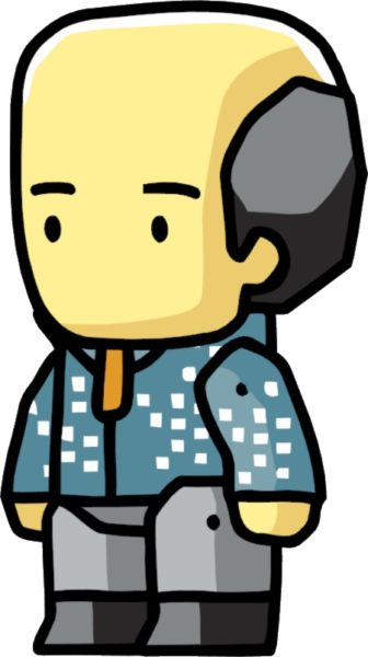 Scribblenauts used car salesman