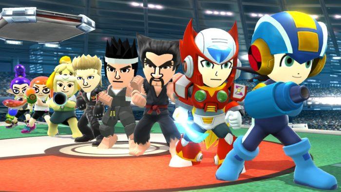 Smash Bros Mii