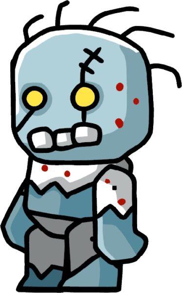 Scribblenauts zombie