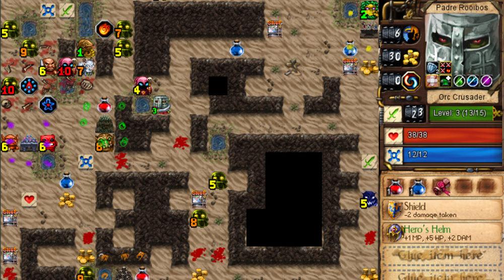 Desktop Dungeons Indie Roguelike