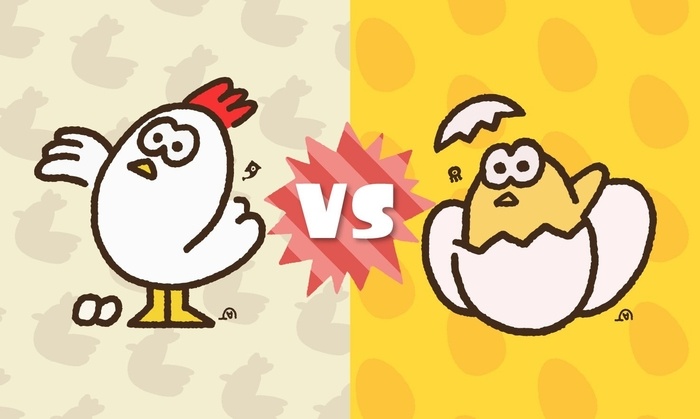 splatoon 2, splatfest, chicken or egg