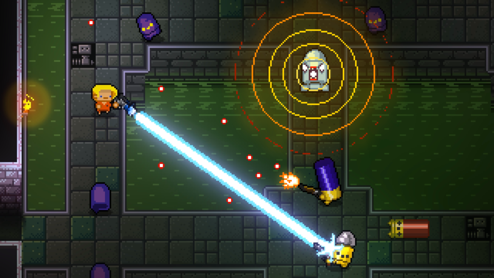 Enter the Gungeon Indie Roguelike The Messenger