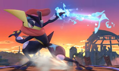 Greninja, Super Smash Bros