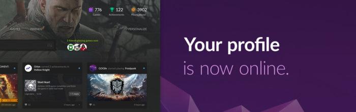 GOG User Profile