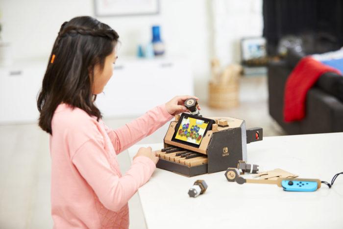 Get your Nintendo Labo fix at Amazon's Treasure Truck