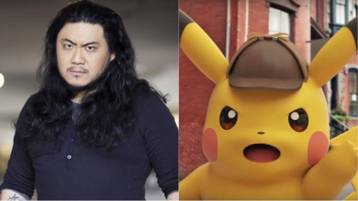 detective pikachu voice actor