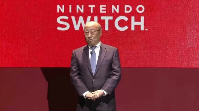 Nintendo President Tatsumi Kimishima