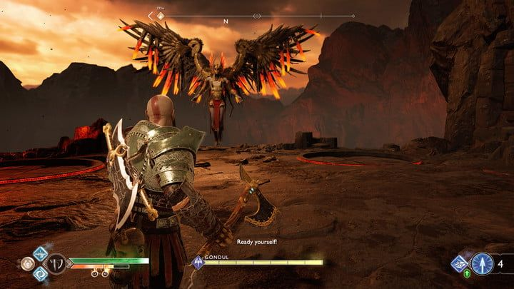 God of War: How to Beat Gondul the Valkyrie Easily