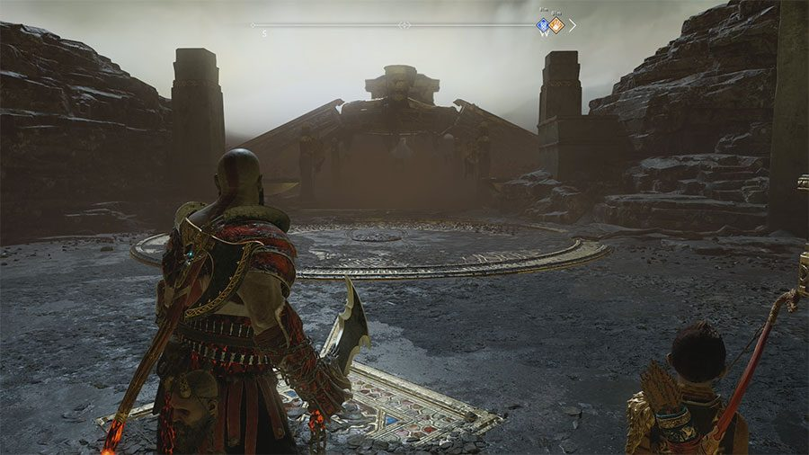how to get aesirbane in god of war, how to get aesirbane, niflheim, god of war ps4, aesirbane