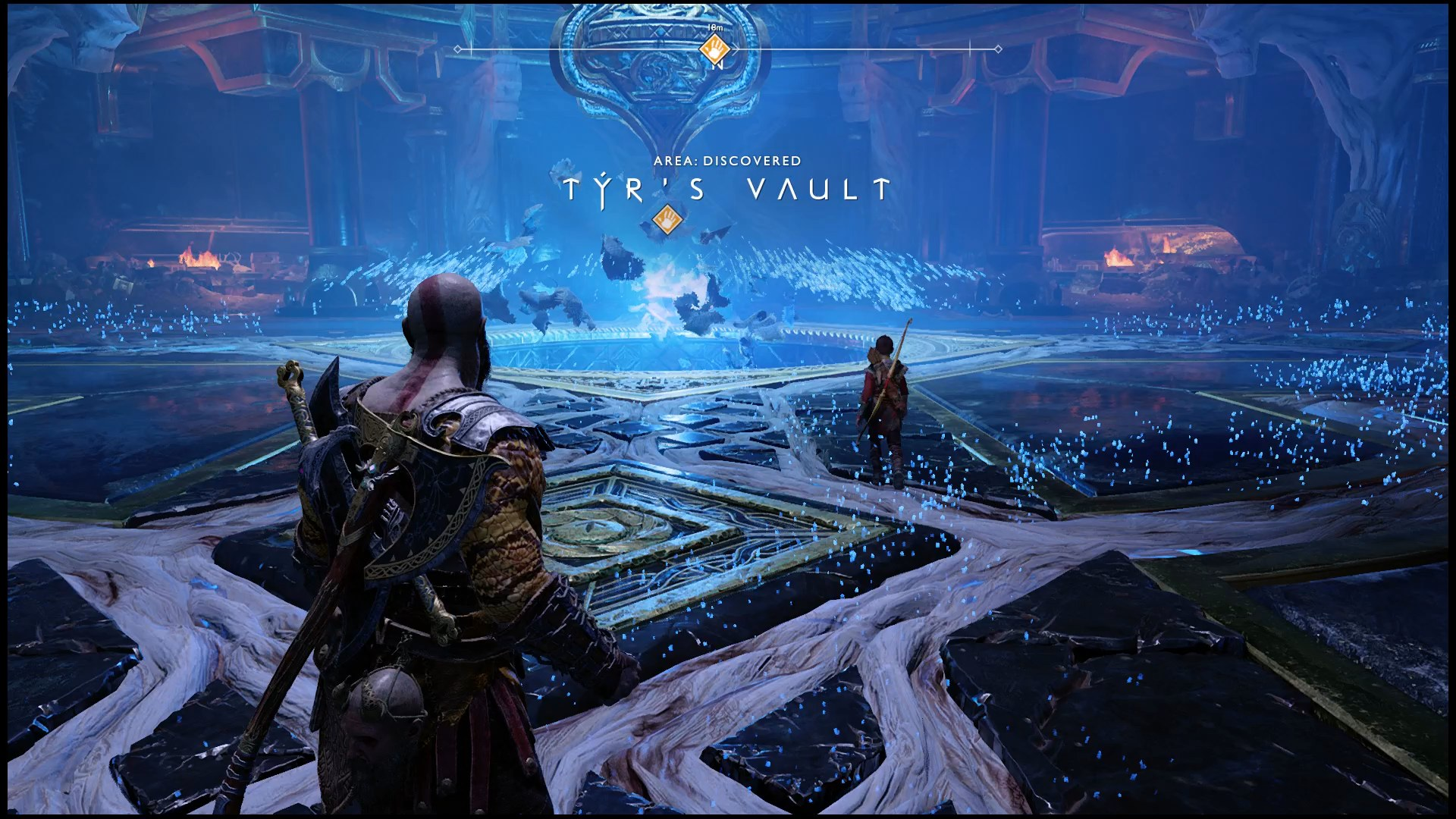 tyr's vault puzzle solution in god of war, how to solve tyr's vault, tyr's vault, god of war ps4