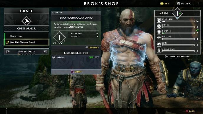 god of war upgrade