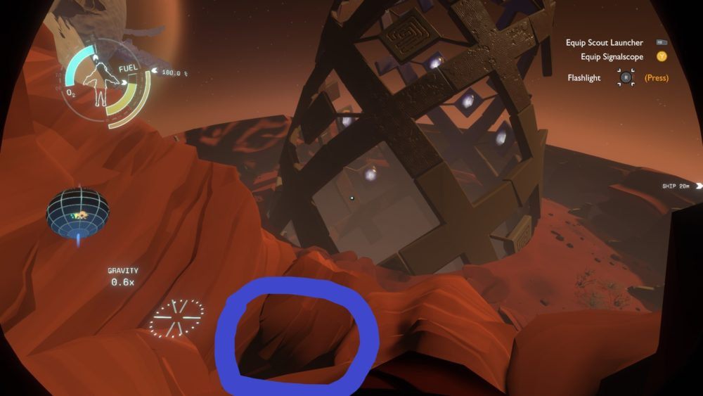 how to get to high energy lab in outer wilds