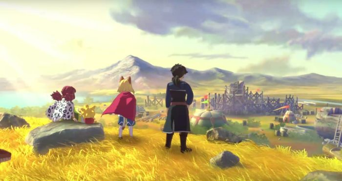 Ni No Kuni 2, best ps4 exclusives