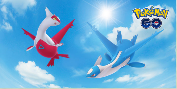 pokemon go, niantic, latios latias