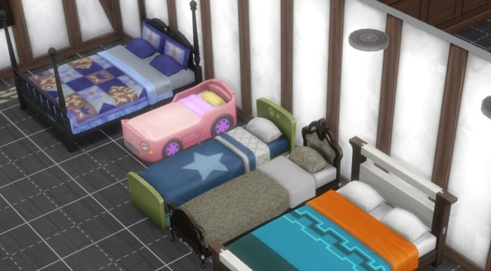 sims beds