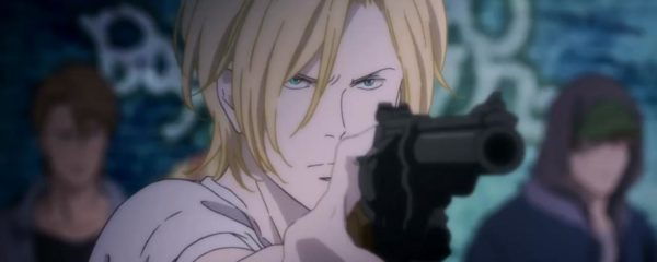 Banana Fish, Amazon Prime, Anime, 2018
