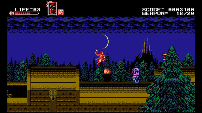 Bloodstained Curse of the Moon Train