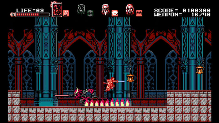 Bloodstained Curse of the Moon Zangetsu