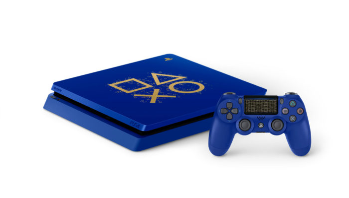 Blue PS4