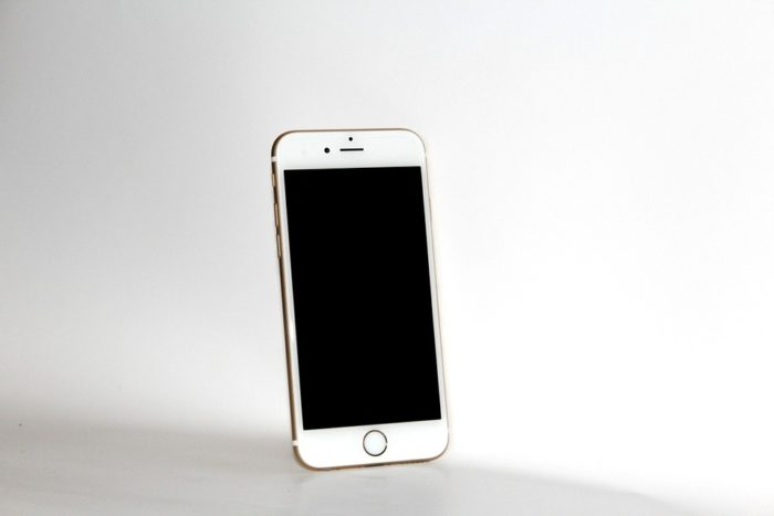 Mobile Phone Iphone 6s White Smartphone