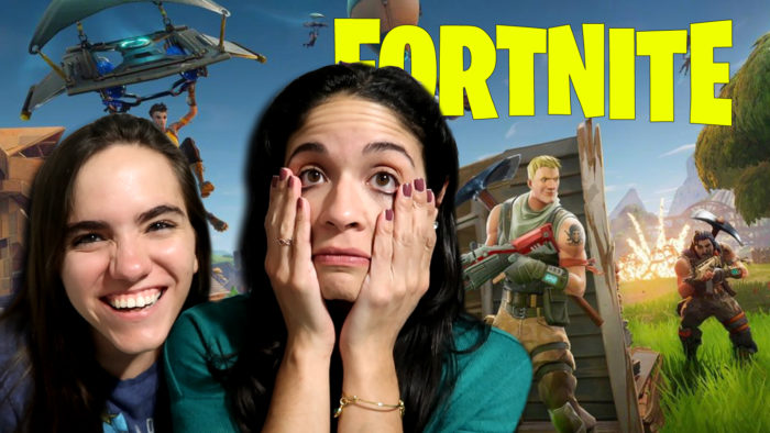 My Friend Doesn't Play Games, So I Showed Her Fortnite