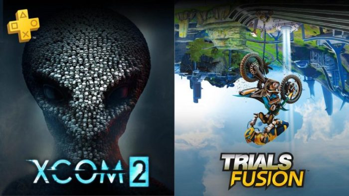 xcom 2, trials fusion, playstation plus, ps plus, free games, june 2018, sony