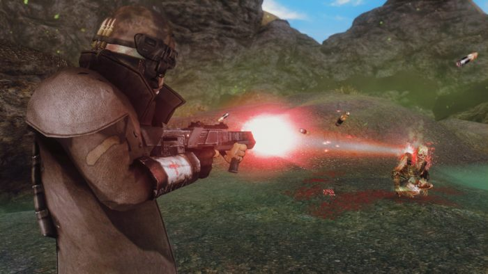 Photon Laser Weapon Pack Mid