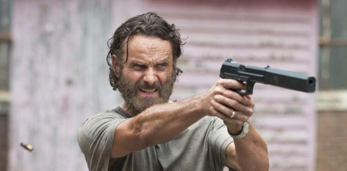 the walking dead, rick grimes, season 9, andrew lincoln
