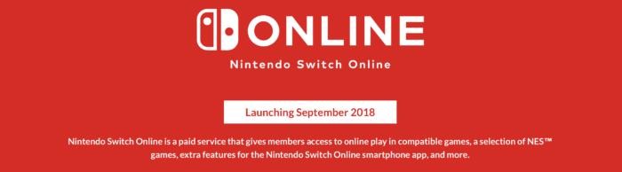 Nintendo Switch, Virtual Console, Online Service