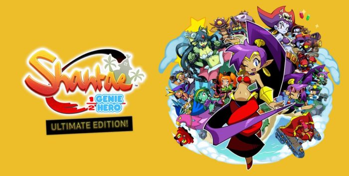 Shantae Ultimate Edition Banner