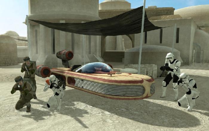 Star Wars Galactic Warfare Speeder