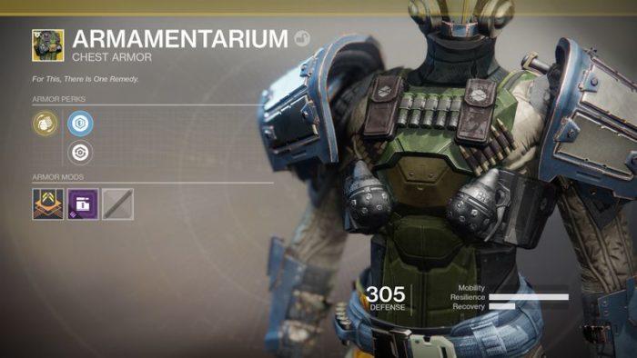 destiny armor 1