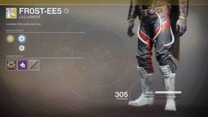 destiny armor 5
