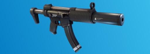 9. Suppressed Submachine Gun