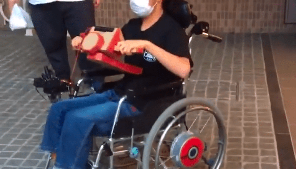 Nintendo Labo Wheelchair