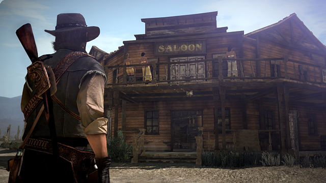 red dead saloon