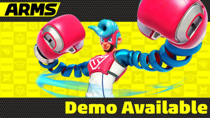 arms, switch, nintendo, demo