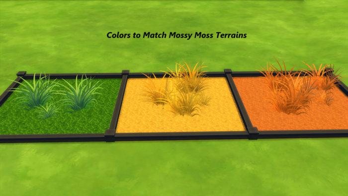 sims grasses