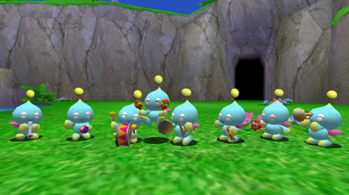 Stop Teasing Chao Garden, Sonic, Our Hearts Can\'t Handle It