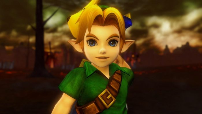 young link hyrule warriors