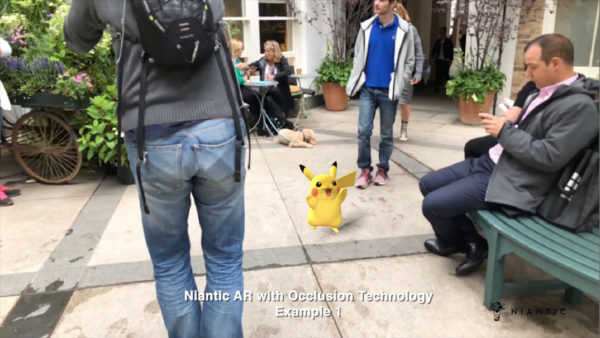 Niantic New AR Tech Demo Proof of Concept Pokemon Go