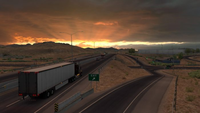 download american truck simulator 2018 pc