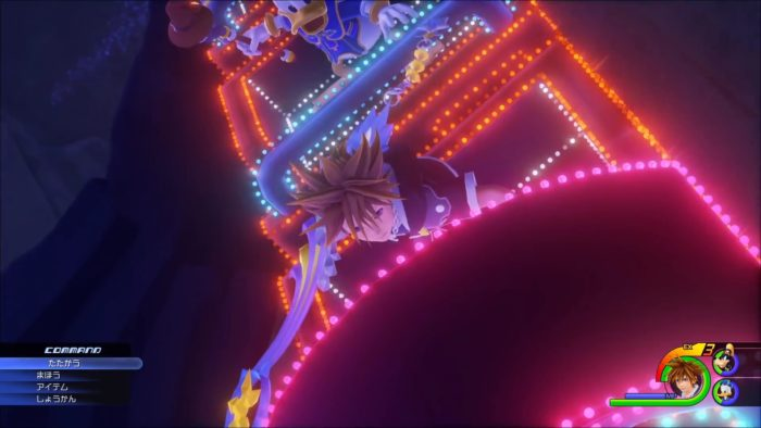 Kingdom Hearts III Disney ride