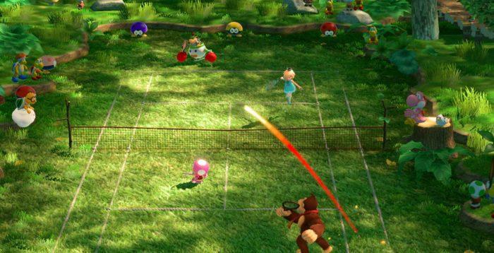 Mario Tennis Simple